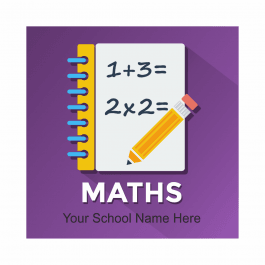 Maths Academic Reward Stickers