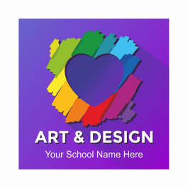 Art & Design Academic Reward Stickers