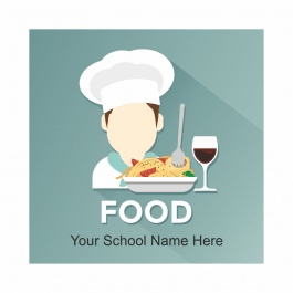 Food Academic Reward Stickers