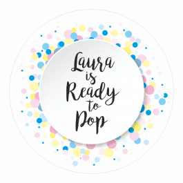 Ready to Pop Neutral Spotty Stickers