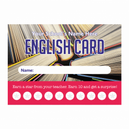 English Punch Cards