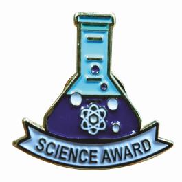 An image of Science Award Lapel Badge