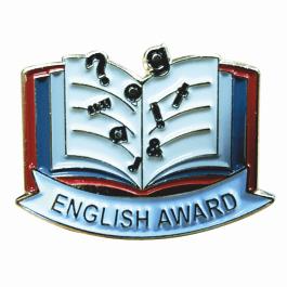 An image of English Award Lapel Badge