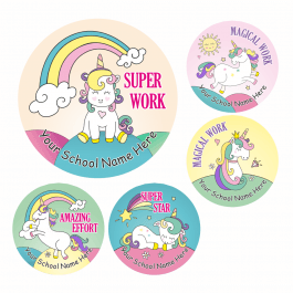 Unicorn Praise Stickers