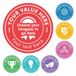 Create Your Own Values Stickers
