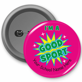 Good Sport Button Badge
