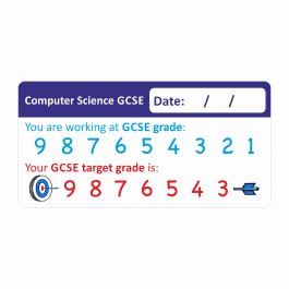 Computer Science GCSE 1-9 marking stickers