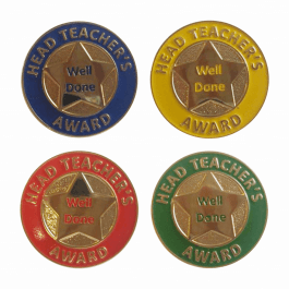 An image of Head Teacher Round Badge