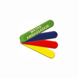 An image of Maths Ambassador Badge - Bar