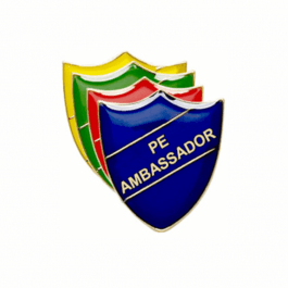 PE Ambassador Pin Badge - Shield