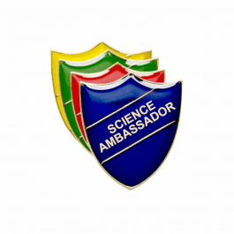 Science Ambassador Pin Badge - Shield