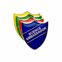 An image of Science Ambassador Pin Badge - Shield