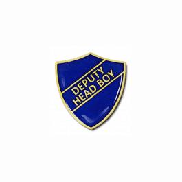 An image of Deputy Head Boy Pin Badge - Shield