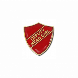 Deputy Head Girl Shield Badge