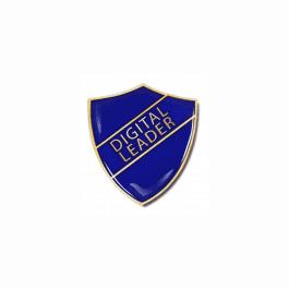 An image of Digital Leader Pin Badge - Shield