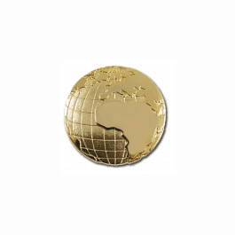 Geography Globe Pin Badge