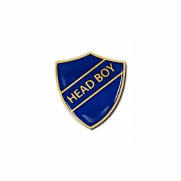 An image of Head Boy Shield Badge