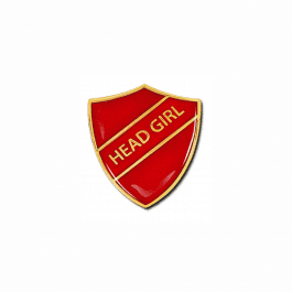 An image of Head Girl Shield Badge