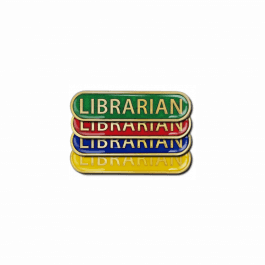 Librarian Pin Badge - Bar