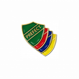 Prefect Pin Badge - Shield