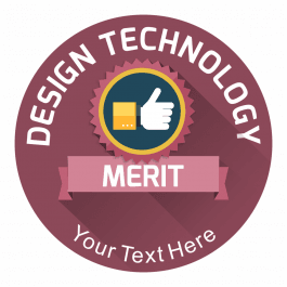 Design Technology Emblem Stickers