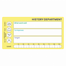 History GCSE Marking Stickers
