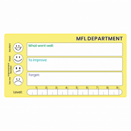 MFL GCSE Marking Stickers