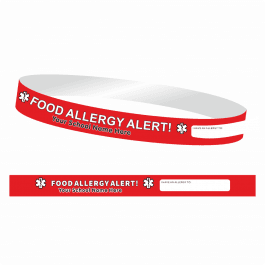 Food Allergy Wristbands