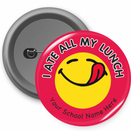 I Ate All My Lunch Button Badges