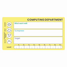 Computing GCSE Marking Stickers