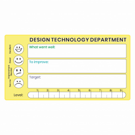 Design Technology GCSE Marking Stickers