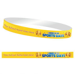 I Joined in on Sports Day Wristbands