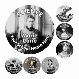 An image of Extraordinary Women Stickers-VALUE