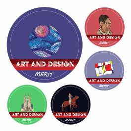 Art KS1 and KS2 Curriculum Stickers
