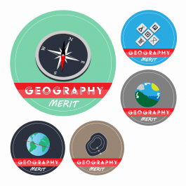 Geography KS1 and KS2 Curriculum Stickers