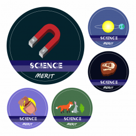 Science KS1 and KS2 Curriculum Stickers