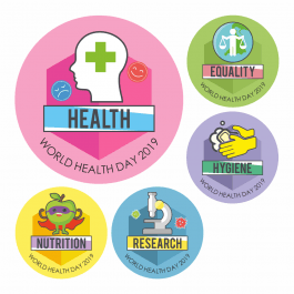 World Health Stickers