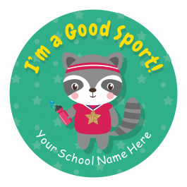 Animal Sports Day Stars Stickers