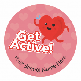 Healthy Lifestyle Stickers