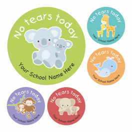 No Tears Today Stickers