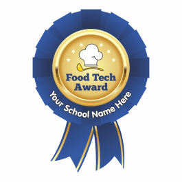 Food Technology Rosette Stickers