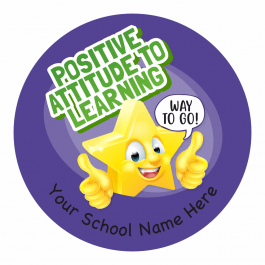 Positive Attitude to Learning Stickers