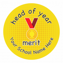 Head of Year Multi Award Stickers