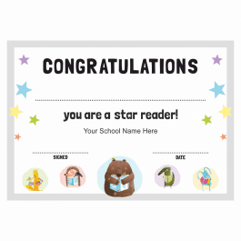Star Reader Certificates