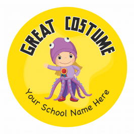 Best Costume Stickers