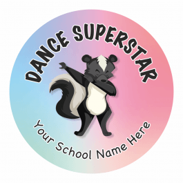 Dancing Animal Stickers