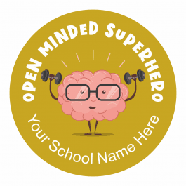 Open Mind Stickers