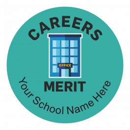Careers Merit Stickers