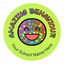 Sparkly Behaviour Stickers
