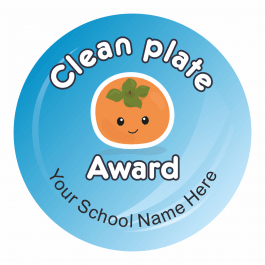 Lunchtime Award Stickers